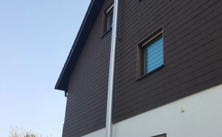 Außenkamin mit Bogen ohne Wanddurchführung